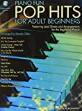 Piano Fun-Pop Hits For Adult Beginners Book/Audio Online