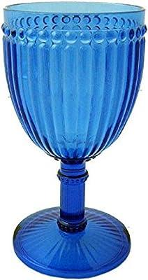 Le Cadeaux Milano 11 oz Wine Glass, Blue