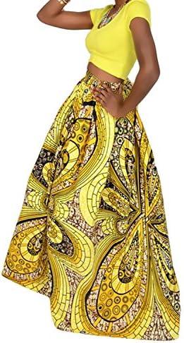 African maxi skirt _image0