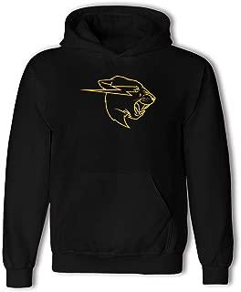 Mr Beast Yellow Teenagers Long Sleeve Casual Hooded Sweater, Pocket Hooded Sweatshirt