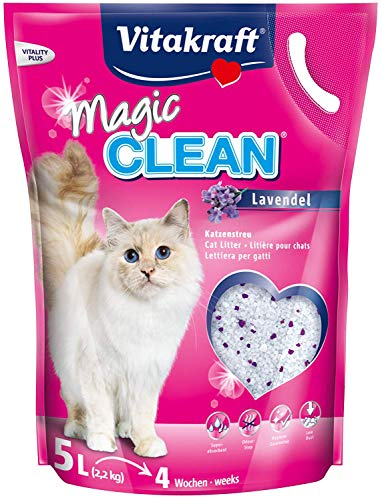 Magic CLEAN Katzenstreu Lavendel, 5l