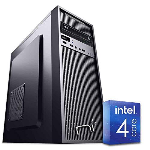 PC DESKTOP INTEL QUAD CORE RAM 8GB DDR4 HD1TB DVD/WIFI/HDMI FISSO COMPLETO ASSEMBLATO