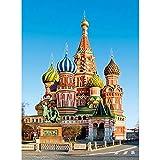 MAIYOUWENG Puzzle De 1000 Piezas para Adultos Puzzle De Madera De La Plaza Roja De Moscú para Adolescentes Y Adultos, Muy Buen Juego Educativo