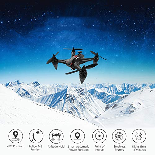 RC GPS Drone 5G Borstelloze Motor Wifi FPV RC Quadrocopter Hover Drones Follow Me Drone Met Camera Long Vluchttijd 4K HD Camera