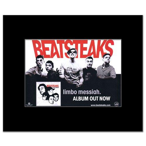 BEATSTEAKS-Limbo Messias zum Ausdruck Poster, Miniposter, matt, 21 x 13,5 cm
