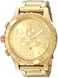 Nixon A083502 51-30 Chrono A083502 All Gold Men's Watch (51mm. Gold...