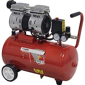 51RNKhQW LL. SS300  - MADER POWER TOOLS - Compresor de Aire (sin aceite) 24L 0.75HP - silencioso - ecologico - economico