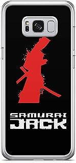 Loud Universe Jack Samurai Samsung S8 Case Train Logo Jack Samurai Samsung S8 Cover with Transparent Edges