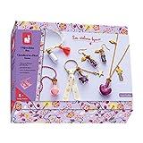 Janod- Kit Créatif-Bijoux Fioles de Fées, J07907, Multicolore