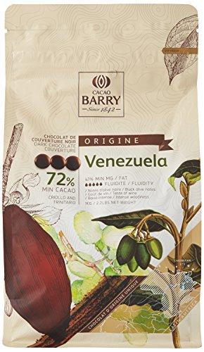 CACAO BARRY 72% Min Cacao Chocolat Venezuela Pistoles 1 kg