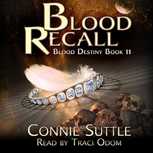 Blood Recall audiobook cover art