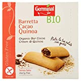Germinal Barrita de Quínoa Rellena de Crema de Cacao sin Gluten Bio Germinal, 180g