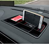Coche Interior Caja de Almacenamiento del Tablero de Instrumentos, para VW Tiguan 2010 2011 2012 2013 2014 2015 2016 Contenedor de Bandeja de Consola Multifuncional, Dashboard Storage Box Accesorios