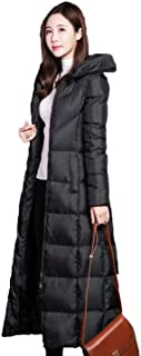 PINGORA Women's Winter Fashion Thickened Warmest Long Down Puffer Jacket Coat Parka