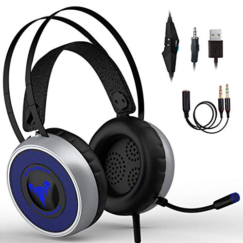 IMBA V8 Gaming Headset for 3D Surround Sound, PS4 Xbox One...