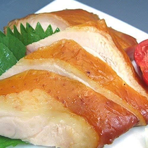 水郷のとりやさん 国産 鶏肉 もも肉の燻製 スモークチキン 1枚 (約250g)水郷どり 使用