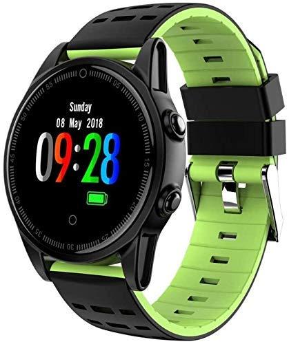 JIAJBG Rastreador de fitness inteligente rastreador de fitness reloj pulsera inteligente, R13 pulsera inteligente fitness Tracker pulsera deporte fitness Tracker desgaste diario/verde