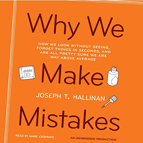 Why We Make Mistakes  audiobook cover art