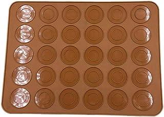 Tapis De Cuisson Silicone Macaron Moule Tapis De Cuisson Antiadhésif Pâtisserie Feuille Gâteau Cuisson Pad Silicone Gâteau...