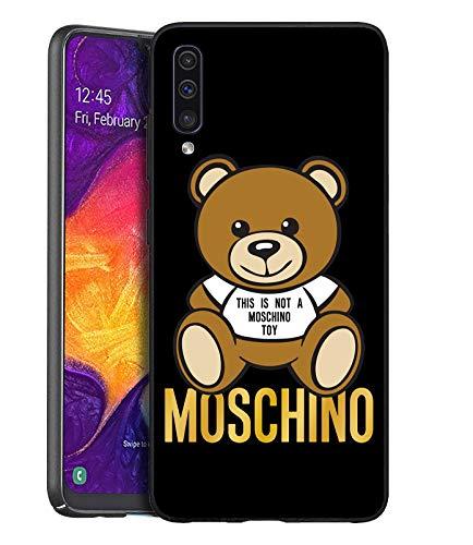 Cover Samsung Galaxy A70, Caso Custodia in Morbida Silicone TPU per Samsung Galaxy A70 (This Is Not A Moschimo Toy)