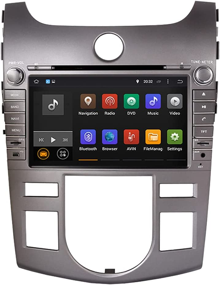 Black Android 10.0 System 8 sold out Max 64% OFF inch HD Car DVD Naga 1024600 GPS