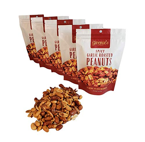 Gwenie's Pastries Roasted Peanuts (Spicy Roasted, 5 Pack) Filipino Style Seasoning…