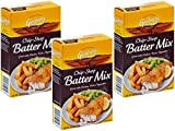 Golden Fry Chip Shop Batter Mix, 3 box pack, 170g/6oz each, Imported from Ireland Irish