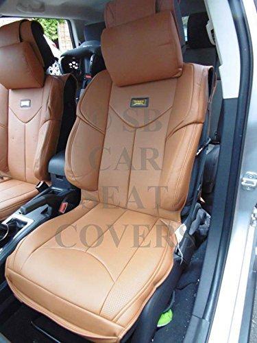 R – Fundas de asiento de coche para Lexus RX, YMDX Tan, Rossini Sports