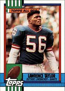 1990 Topps Football Card #52 Lawrence Taylor