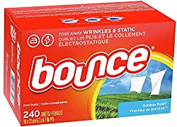 commercial Bounce cloth dry and soften wipes, outdoor fresh, 240 pcs the washer dryer combos on the market