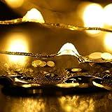 6 Stück LED Flaschenlicht, Sanniu 20 LEDs 2M Lichterkette Kupferdraht batteriebetriebene Weinflasche Lichter mit Kork Schnurlicht für DIY Deko Weihnachten Party Urlaub Stimmungslichter (Warmweiß) - 8