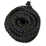 Midwest Hearth Wood Stove Replacement Gasket for Woodburning Stoves - Graphite Impregnated Fiberglass Gaskets (7/16' x...