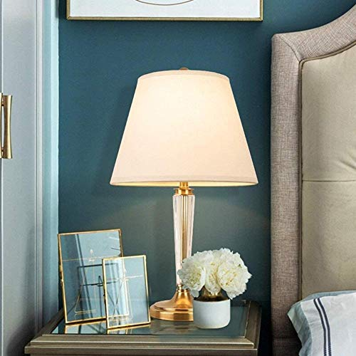 chushi Luces de Techo Lámpara De Escritorio Duradera K9 Crystal Copper Elegante Atmósfera Luz Adecuada para Dormitorios Y Salas De Estar Luz de Techo Zzib