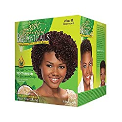 Soft & Beautiful Botanicals Texturize Regular No-Lye Provides professional looking waves and curls in minutes. No-lye, no mix For sensitive scalps. Enhances natural wave and curl pattern of your hair Create short/wavy styles.