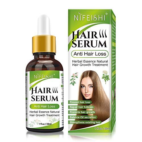 Hair Growth Serum, Anti Hair Loss Serum, Natural Herbal Essence Hair Growth...