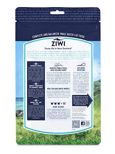 ZiwiPeak(ジウィピーク/ジーウィーピーク)エアドライ・キャットフードNZマッカロー&ラム400g