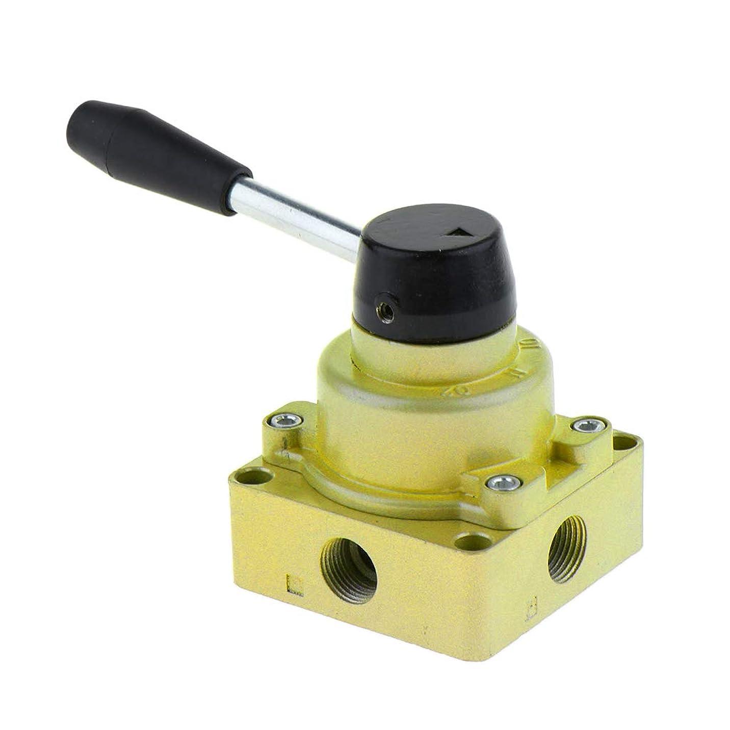 薄暗い魔法処分したgazechimp 空気圧バルブ 4方法3位置 空気圧ハンドバルブ HV-02 HV-03 HV-04 ハンドレバー - HV-03