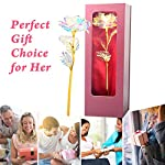 jobosi rose,gifts for mom, gifts for girl friend, gifts for wife, rose flower present gift box great gift idea for valentine's day, mother's day, thanksgiving day, christmas, birthday,anniversary