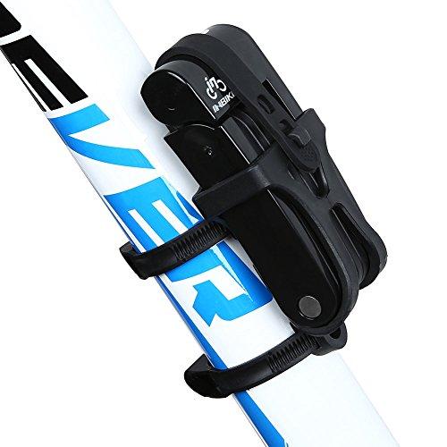 INBIKE 8 Joints Alloy Steel Folding Bike Lock Anti-Hydraulic