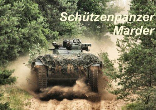 Schützenpanzer Marder (Posterbuch DIN A4 quer)