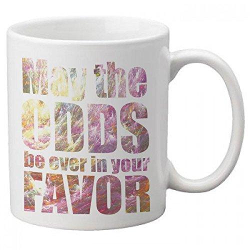 CTP-Taza de desayuno, diseño de película Los juegos del hambre de May the odds be 'ever in your favor'