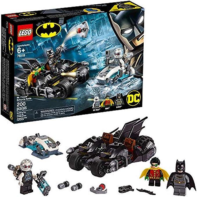 Lego לגו 76118 Mr. Freeze Batcycle Battle