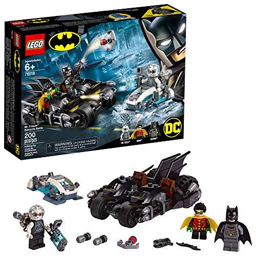 LEGO Batman Mr. Freeze Batcycle Battle Building Kit (200 Pieces)