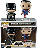 Funko, 7005 – Batman vs Superman: 2 Figuras Pop Vinyl, en versión metálica...