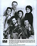Vintage Photos Press Photo Greg Evigan Staci Keanan and Cast of My Two Dads on NBC