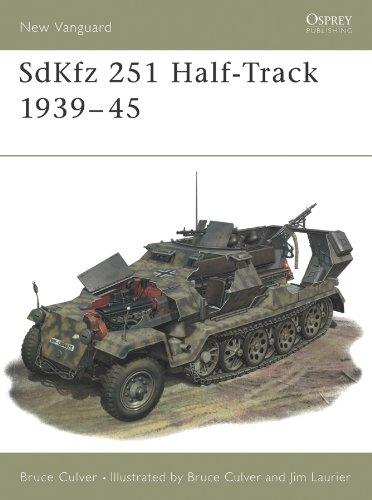 SdKfz 251 Half-Track 1939–45 (New Vanguard Book 25) (English Edition)