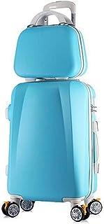C-Xka Carry On Luggage Set Upright Hard Side Hard Shell Suitcase Travel Trolley ABS