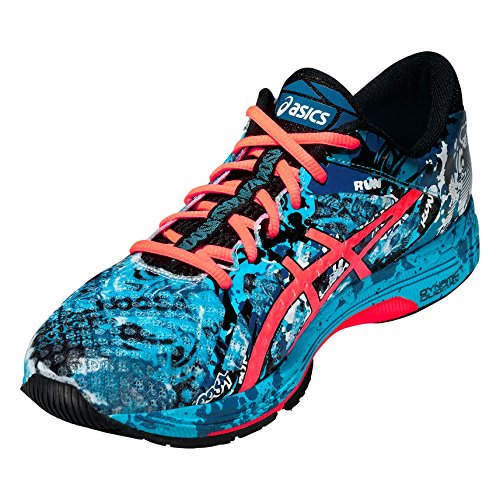 ASICS - Gel-Noosa Tri 11, Zapatillas de Running Hombre, Azul (Island Blue/Flash Coral/Black 4006), 44 EU