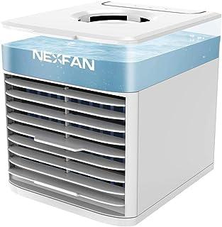 AUUUA Mini ventilador de aire refrigerado por agua humidificador USB de escritorio de la oficina del hogar pequeño aire acondicionado ventilador de refrigeración del hogar pequeño ventilador