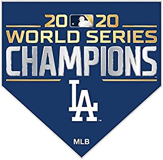 Aminco Los Angeles Dodgers 2020 World Series Championship 7 Pin Collector Set